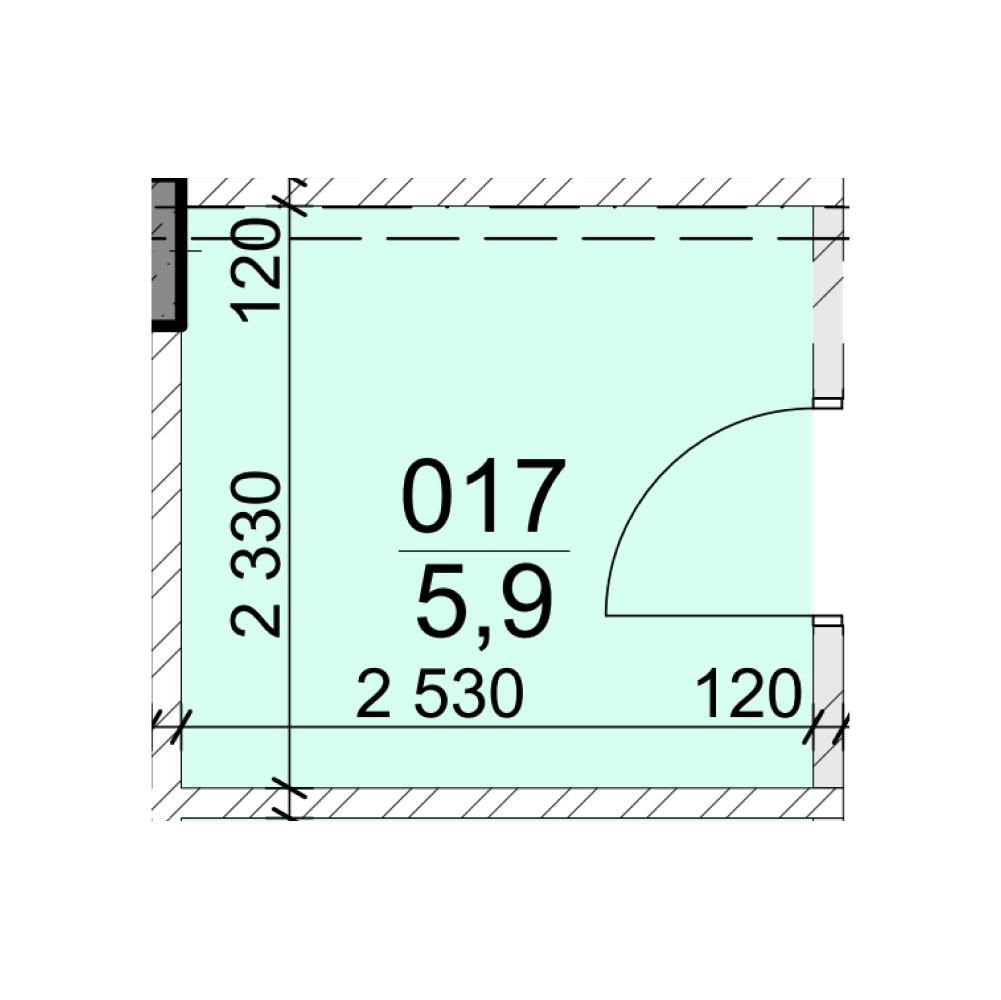 Помещение № 017