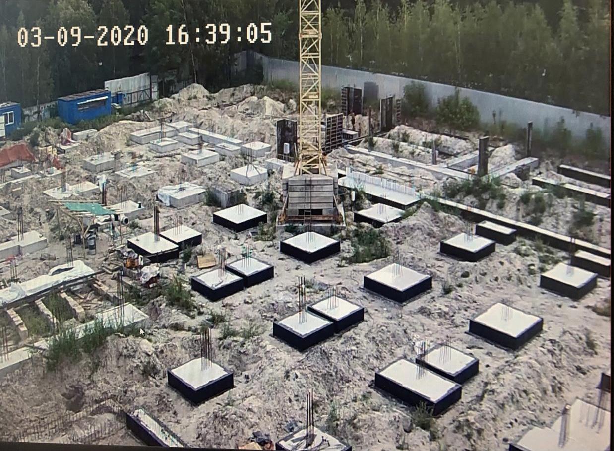 Хід будівництва – вересень 2020 року