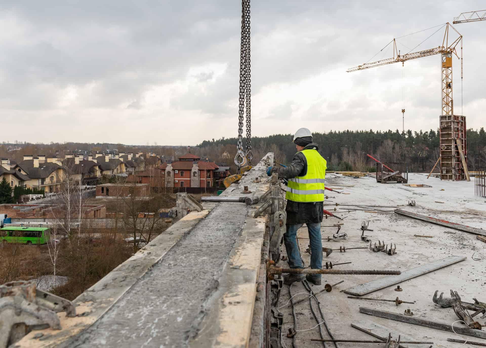 Хід будівництва — березень 2021 року