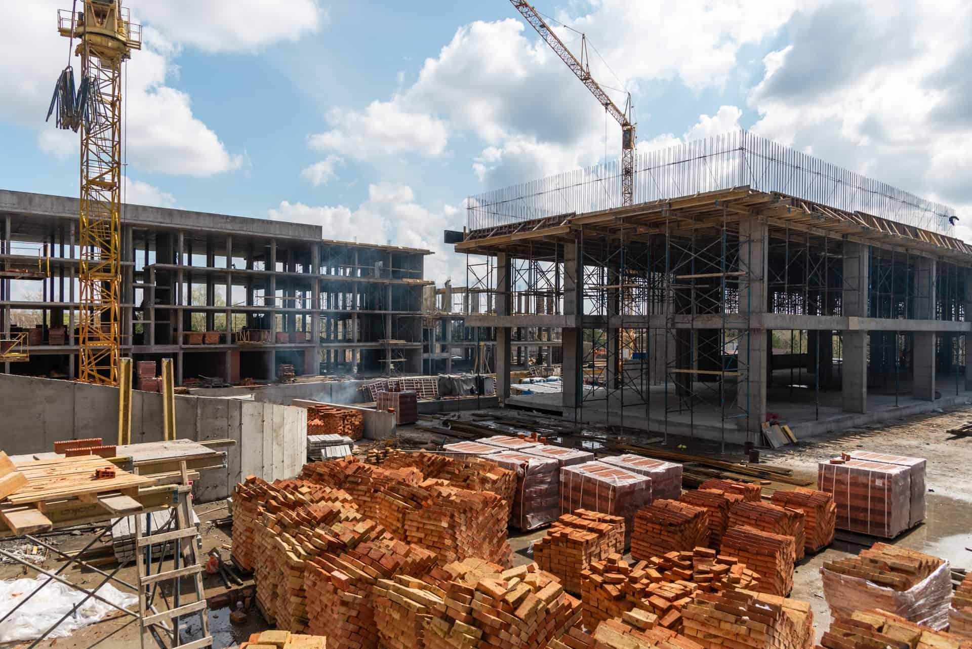 Хід будівництва — квітень 2021 року