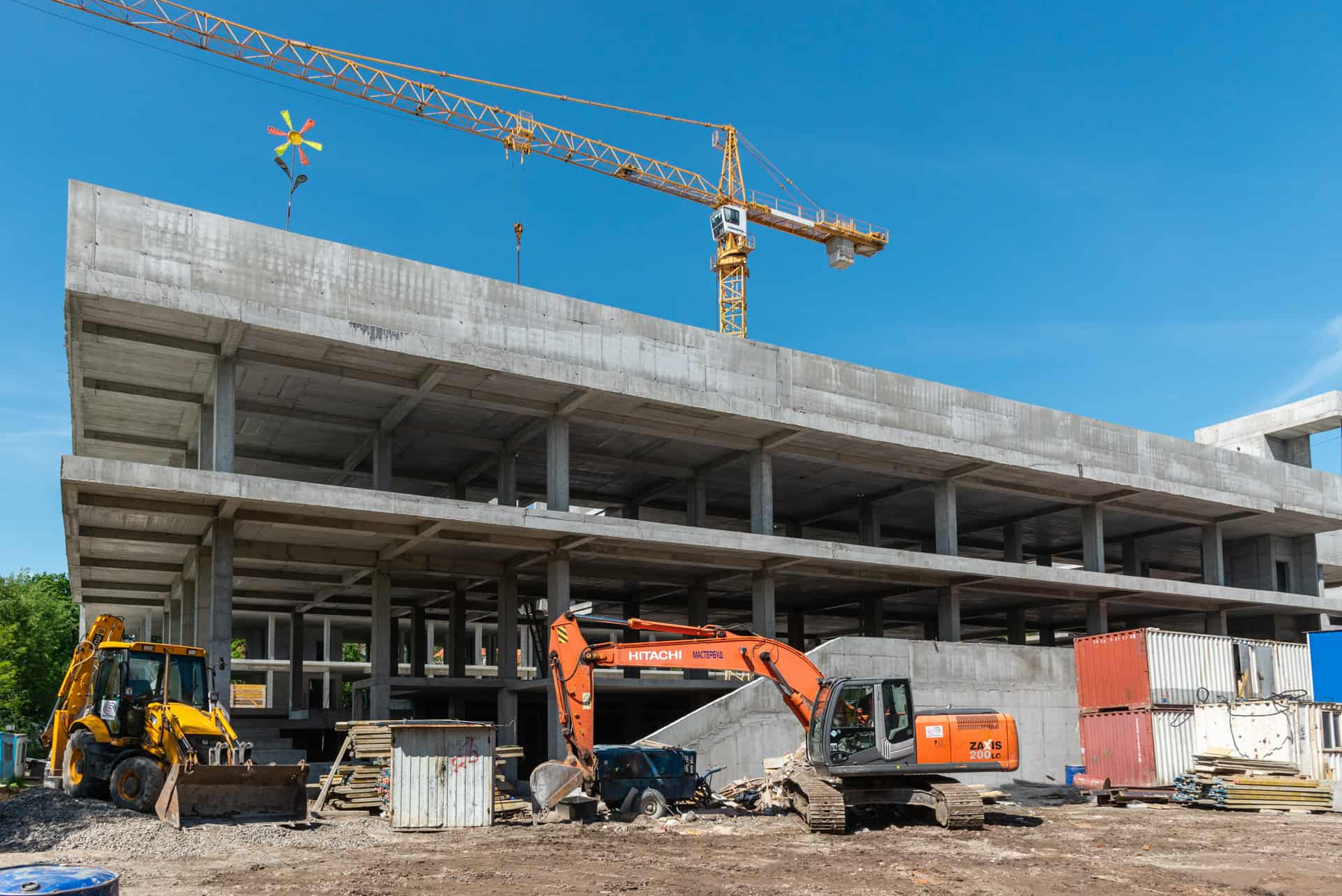 Хід будівництва – травень 2021