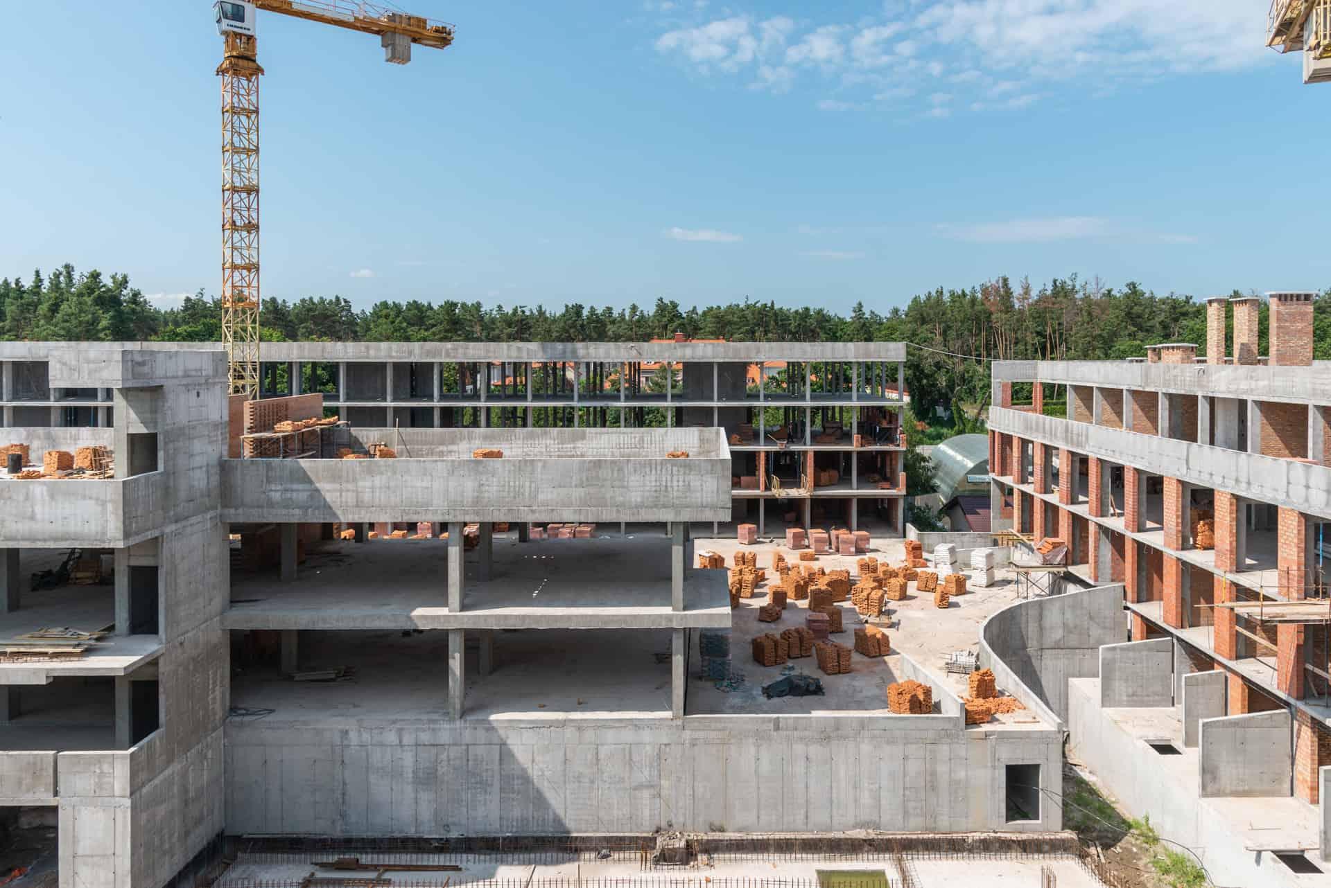 Хід будівництва – липень 2021 року