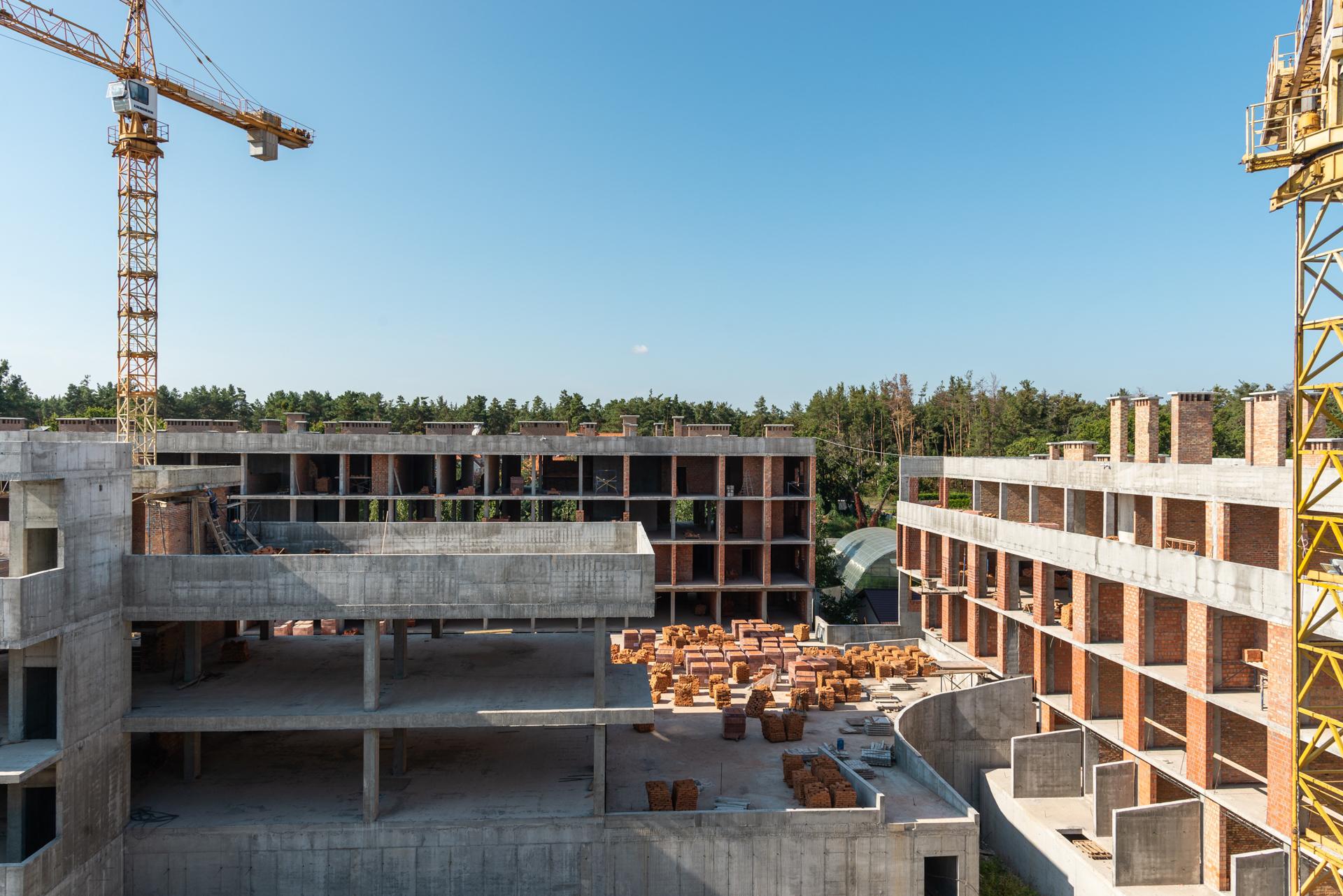 Ход строительства — сентябрь 2021